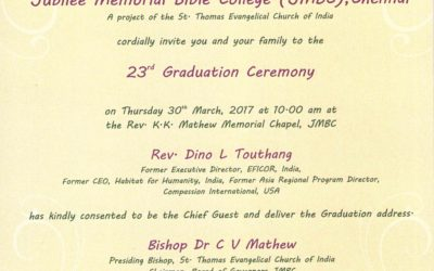YOU ARE INVITED TO THE 2017 GRADUATION CEREMONY