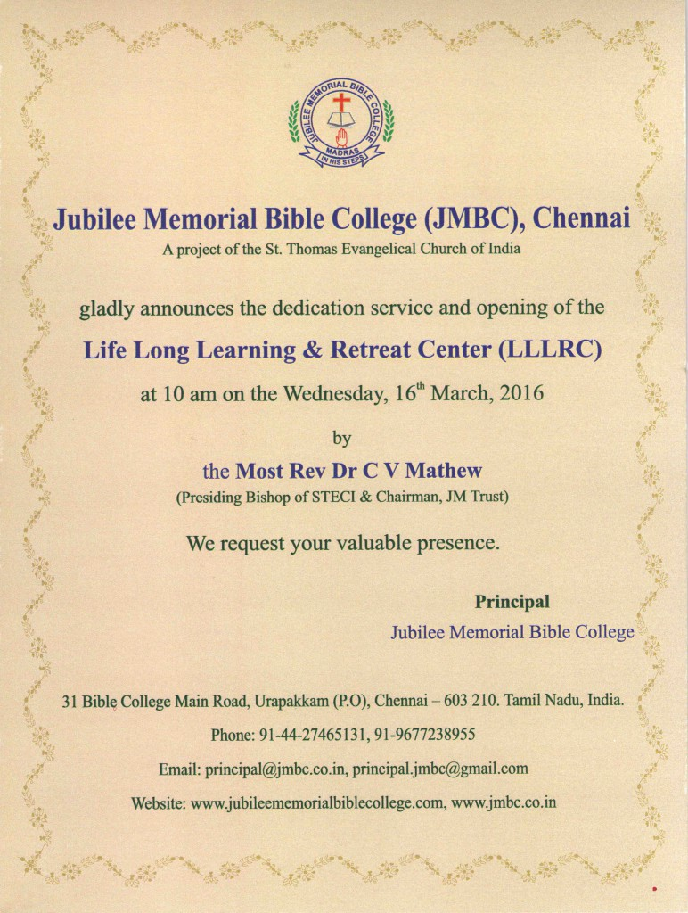 LLLRC - Invitation Card