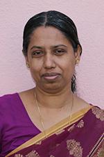 Mrs. Sobha John : Library Assistant